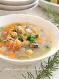 ムーアさんの具沢山のチキンビーンズスープ