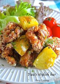 『冷めても美味しい♪むね肉de『チキンとポテトのネギ塩レモン』』