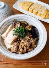 『『なすがとろっ!なす肉豆腐』#簡単#和食#ご飯が進む』