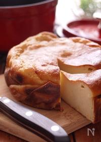 『酒粕の濃厚*チーズケーキ『ストウブ』』