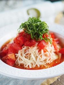 【5分】ダブル使いがキモ!簡単ぶっかけトマトそうめん