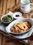 炊飯器で簡単チキンライス&レンジでとろふわオムライス。