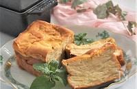 リンゴとマスカルポーネチーズのガトーインビジブル
