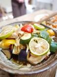 味が染みておいしすぎ!メカジキと夏野菜の揚げびたし