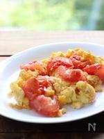 台湾風♪トマトと卵の炒め物