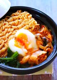 『ピリ辛こく旨!韓国風チゲ鍋の作り方レシピ【一人鍋】』