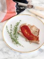 豚肉のソテー トマトハニーソース