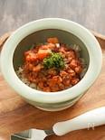 【離乳食後期〜】サバと茄子のトマト煮【鯖缶でかんたん♩】