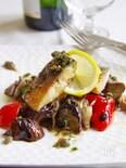 バル風サバと彩り野菜のケッパーソース