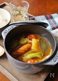 『春野菜のスープカレー』