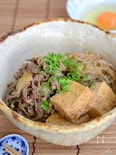 がごめ昆布おぼろの肉豆腐【作りおき】