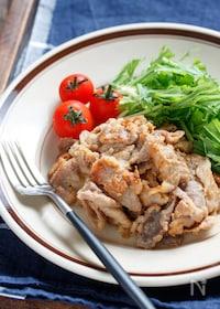 『豚こまの味噌マヨ漬け【#漬けて焼くだけ#下味冷凍#作り置き】』