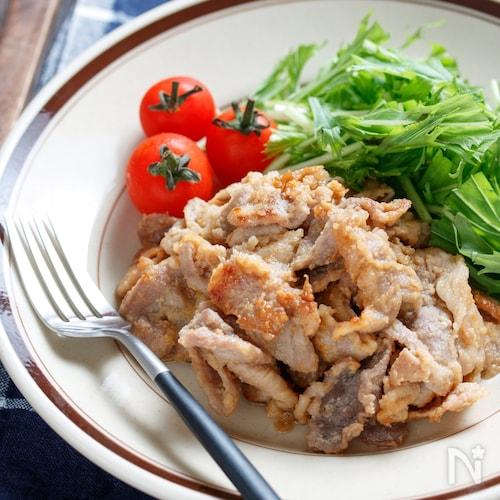豚こまの味噌マヨ漬け【#漬けて焼くだけ#下味冷凍#作り置き】