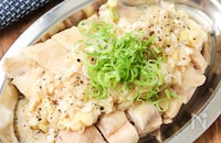 本格中華の『茹で鶏』!低温調理で最高にしっとりジューシー♪