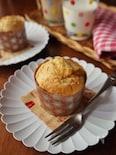 朝食やおやつに♡ニンジンと豆乳のマフィン