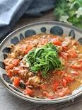 缶詰使いで簡単ちょっ早おかず♡さば味噌煮缶とトマトの生姜炒め