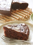 フライパンで簡単!オレンジ風味のチョコケーキ