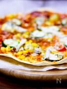 クリスピーピザ*トマトバージョン。