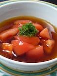 トマトのあんかけ