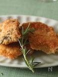 鶏の胸肉のアーモンドパン粉焼き