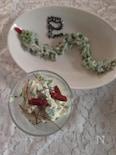 へびな春菊サラダ