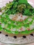 ◆タイ(白身魚)のカルパッチョ ルッコラソース◆