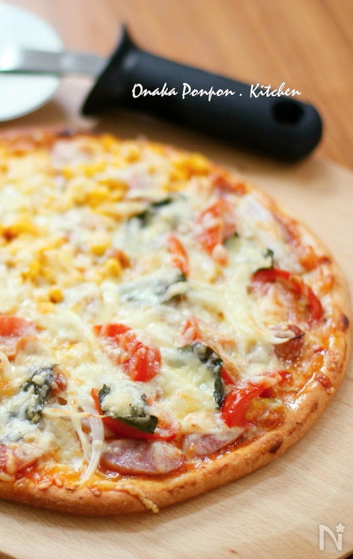 簡単でおいしいピザ生地