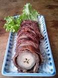 加賀伝統野菜・沢野ごぼうの八幡巻き