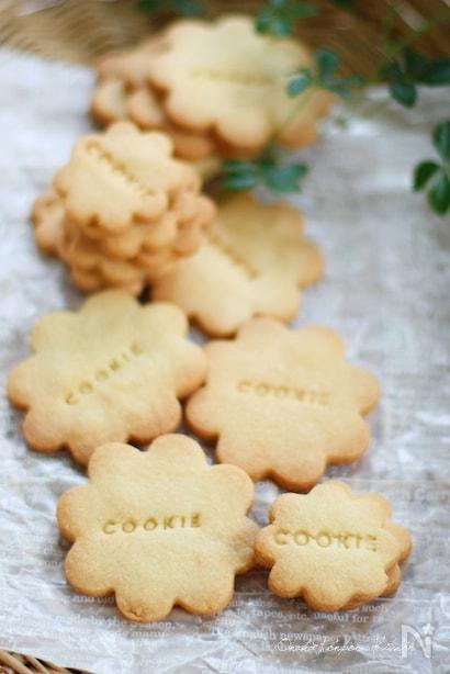 サクサク型抜きクッキー