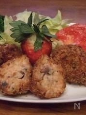 イワシと山芋の揚げ物 イワシ料理④