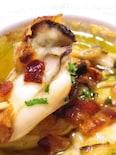 ◆牡蠣とパンチェッタのアヒージョ◆オリーブオイル煮