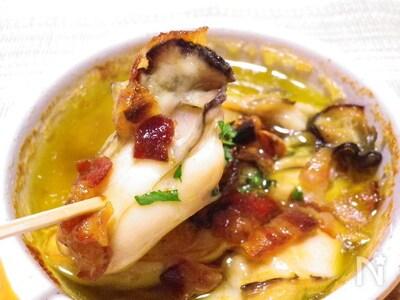 アヒージョ 牡蠣