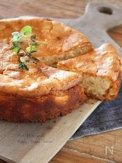 雑穀と黒蜜のベイクドチーズケーキ