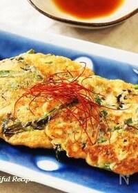『【ダイエットレシピ】お豆腐のふんわりチヂミ。』