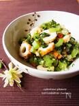 大根の葉とちくわのピリ辛常備菜