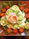 徳島満喫すだちと鯛のサラダ