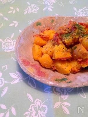 カルボナーラ風ポテトサラダ
