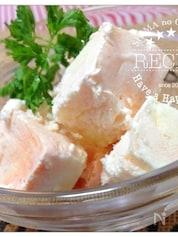 ヨーグルトとクリームチーズの簡単!アイスクリーム