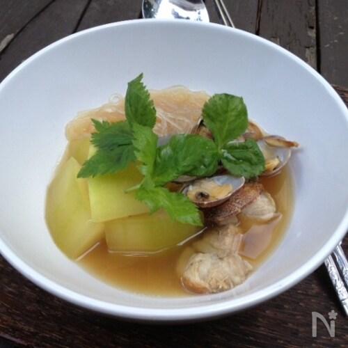 台湾風夏バテ予防のさっぱりスープ