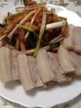 ボッサム―塩ゆで豚と大根キムチ