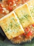 夏向き豆腐ステーキ@クラムトマトソース