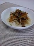 きのこチップのサラダ麺