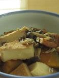 シメジと根菜の煮物