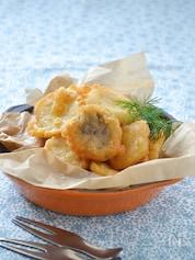 エリンギのチーズ風味フリット