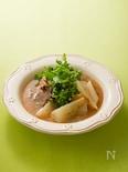 大根と牛肉のマスタードスープ