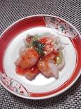 鶏胸肉と青梗菜とえのきのチリソース
