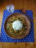 15minでできるオクラと大豆のカレー