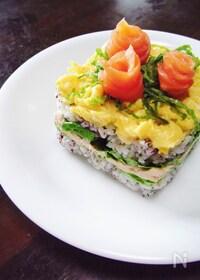『洋風ケーキ寿司』