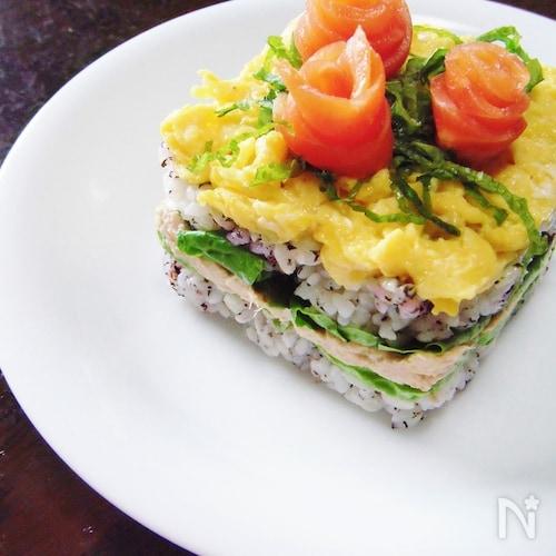 洋風ケーキ寿司
