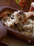 シリコンスチーマーで作る!レンジで簡単きのこご飯